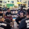 Chicago Bears Visits Jordan Elementary Community School