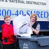 Evento Shred-a-Thon de Community Savings Bank
