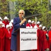 Hundreds in Rally Show Support for Roe vs. Wade