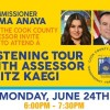 Assessor Kaegi's Countywide Listening Tour to Make its Final Stop