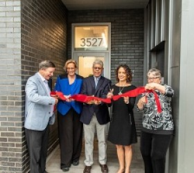 CHA Joins Partners to Celebrate Opening of Pierce House at La Casa Norte