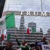 Trump Visita Chicago, Miles Protestan
