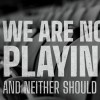City Teams Up with Sports Teams for 'We Are Not Playing' Campaign