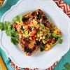 Marinated Grilled Chicken with Mango Salsa