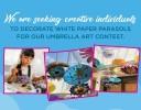 Concurso de Arte de Paraguas en North Riverside Park Mall
