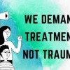 Con un Rally Piden a la Alcaldesa Tratamiento No Trauma