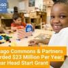 Chicago Commons, Partners Awarded $23 Million, 5-Year Head Start Grant