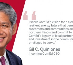 Gil C. Quiniones Named CEO of ComEd